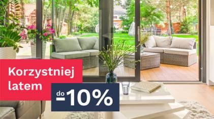 Zyskaj rabat do -10% na zakup okien LUM'UP i Drzwi Premium Vetrex