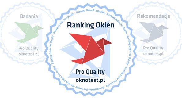 Ranking okien - drogowskaz, kolec, trampolina