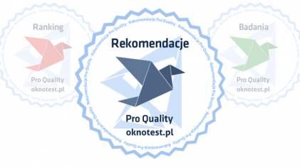 4 firmy z rekomendacją Oknotest.pl