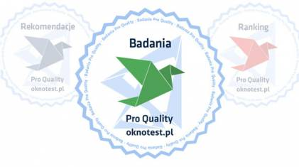 Wyniki badań i testów okien Vetrex, AdamS, Oknoplast