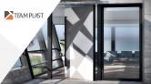 TEAM AXIS - aluminiowe drzwi w systemie Pivot