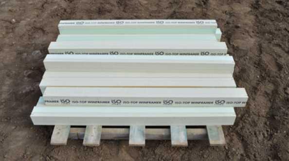 Windmar - montaż okien w ociepleniu ISO-TOP Winframer