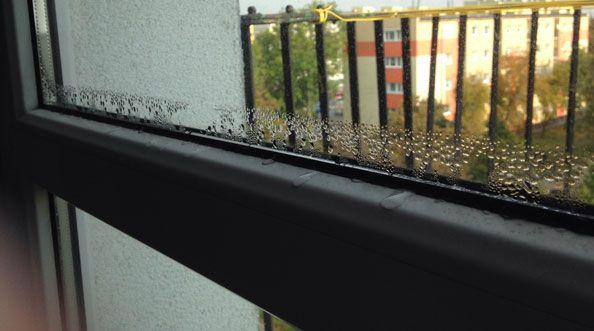 Wpływ przebiegu izoterm na kondensację pary wodnej na powierzchni okien i szyb zespolonych
