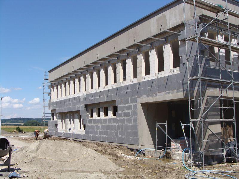 Budowa pasywnego budynku szkolnego w Budzowie