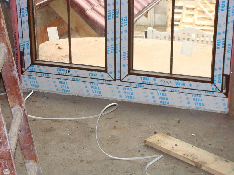 Poszerzenie systemowe pod progową częścią ościeżnicy drzwi balkonowych strona wewnętrzna