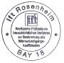 pieczęć instytut Rosenheim