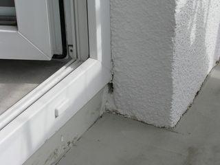 wada wykończenia otwóru okiennego