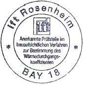 ift rosenheim pieczęć
