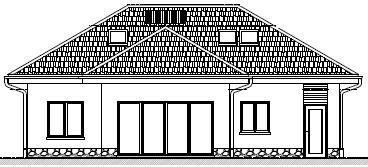 dom energooszczędny elewacja frontowa
