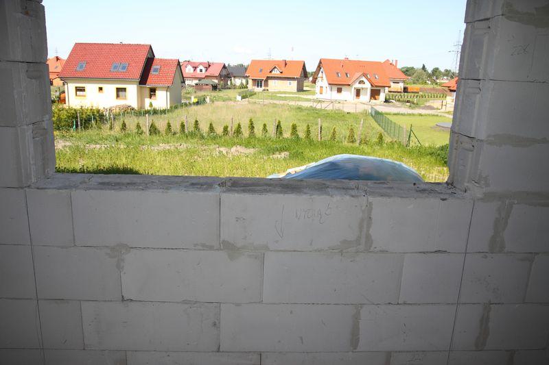 Oścież okienna nieprzygotowana do montażu okien - stan surowy YTONG