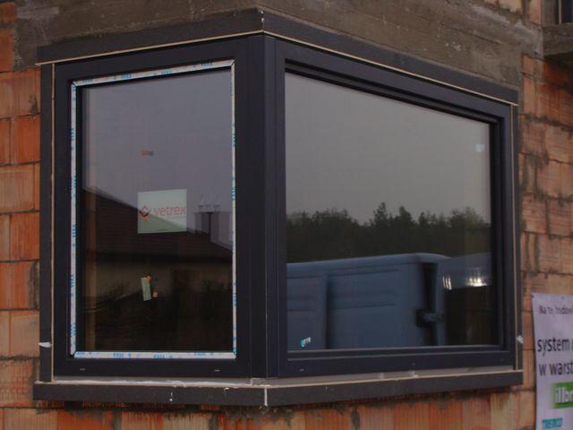 MOWO połączenie okien pod kątem 90 stopni