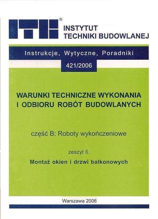 Instrukcja montażu okien ITB
