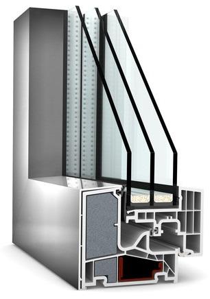 Internorm KF400 z nakładką aluminiową