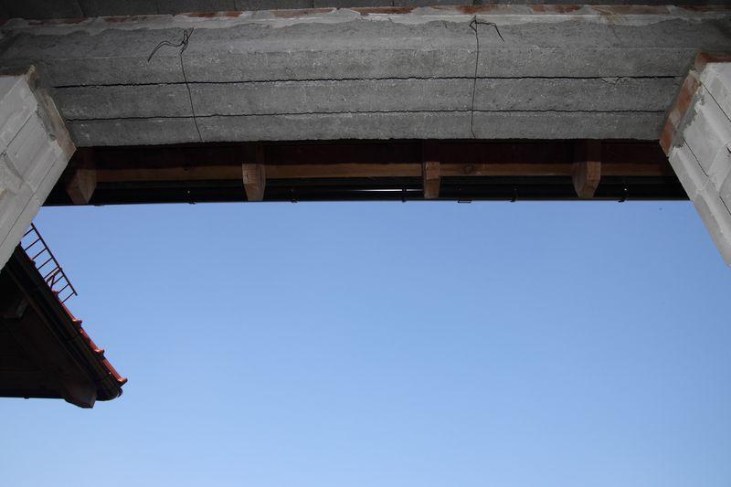 Nadproże ościeży okiennej nieprzygotowane do montażu – stan surowy