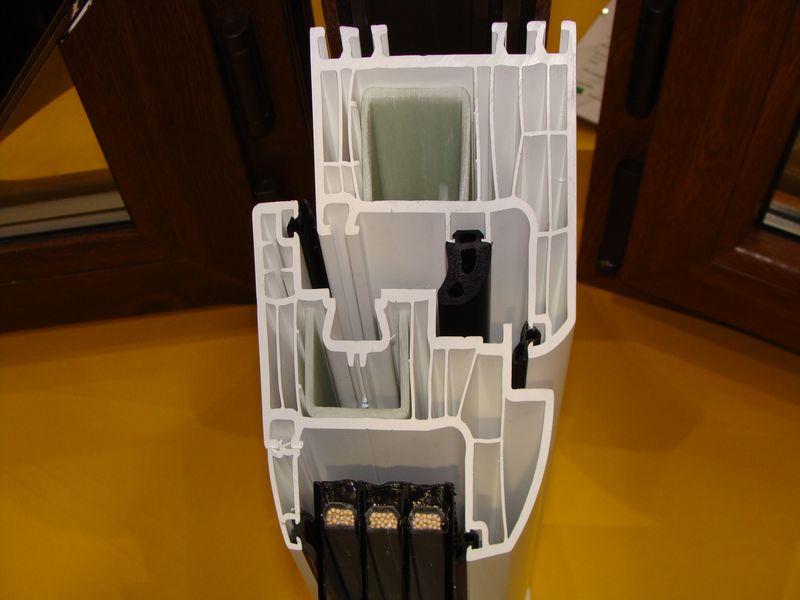 Iglo Energy - złożenie kształtowników z uszczelką środkową