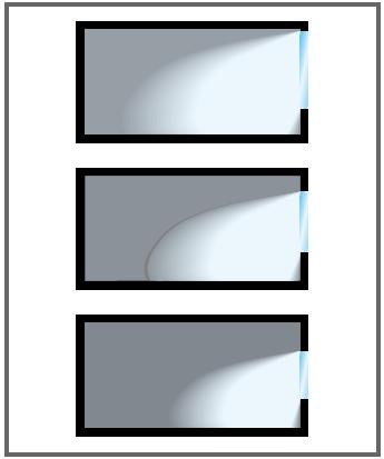 Zależność - wysokość otworu okiennego a ilość światła dostającego się do pomieszczenia