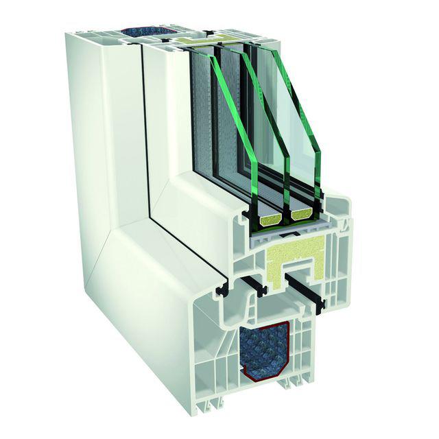 IKD® - szczelne wypełnienie piankowe w skrzydle okiennym