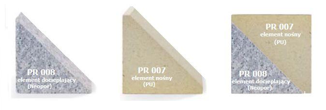 MOWO element nośny PR007 i element docieplający PR008