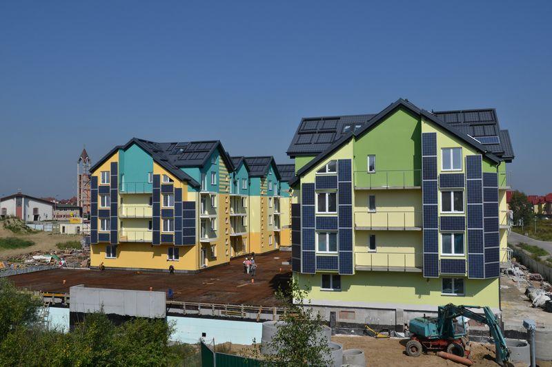 Zeroenergetyczne osiedle mieszkaniowe Gdańsk Osowa