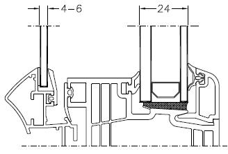 Okno DIMENSION 4 - układ 3 szyb