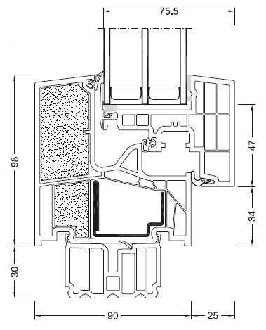 INTERNORM KF 400 THERMO PSSIV Schemat