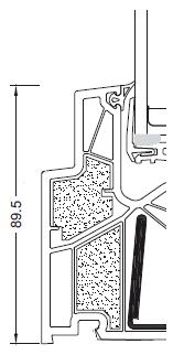 Szerokość całkowita KF-500