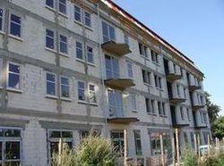 Ciepły parapet. Budynek mieszkalno-biurowy Słupsk. Widok ogólny. Strona północna.