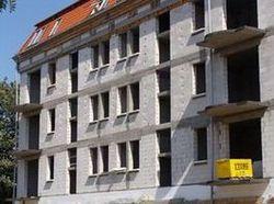 Ciepły parapet. Budynek mieszkalno-biurowy Słupsk. Widok ogólny. Strona południowa.