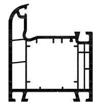 Ościeżnica. 4 komory.