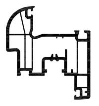 Skrzydło. 4 komory