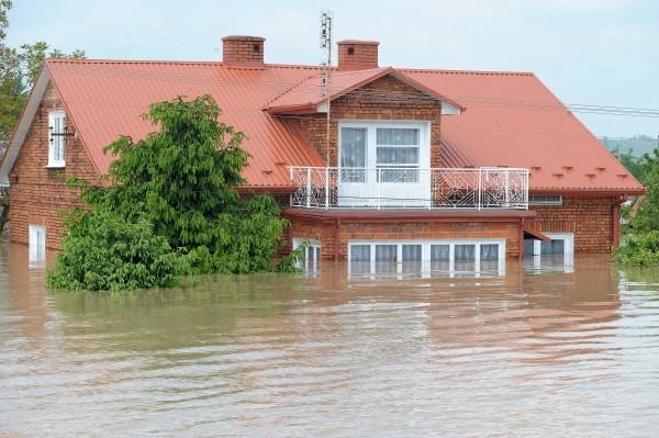 Powódź. Bogatynia 2010.