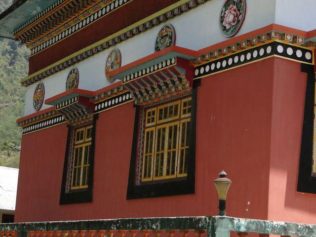 Okno w klasztorze Dubdi założonym w 1701