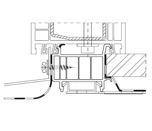 Ościeżnica ramy okna z kotwą i listwą progową oraz prawidłowy sposób montażu parapetów.