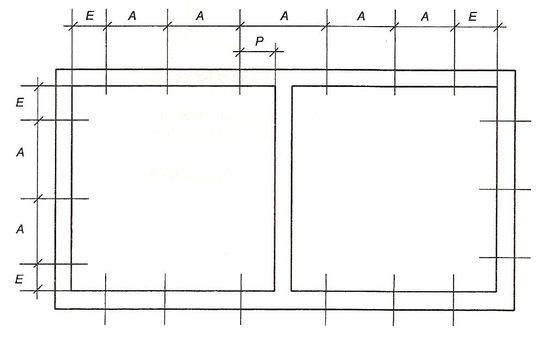 Ilość i rozmieszczenie mechanicznych punktów mocowania okno do muru