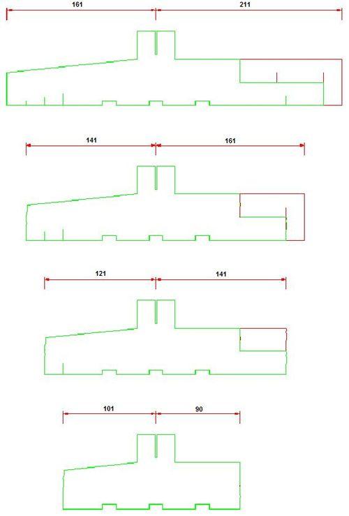 Montaż okna z wykorzystaniem ciepłego parapetu - szerokości kształtek ciepłego parapetu