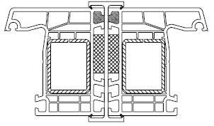 Łącznik balkonowy - łącznik H