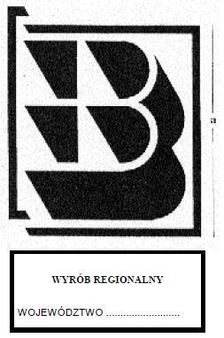 Wzór znaku budowlanego B