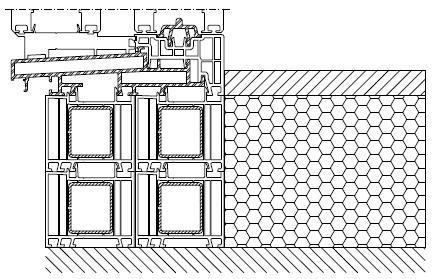 Kształtowniki poszerzeń jako element progowej części drzwi tarasowych HST