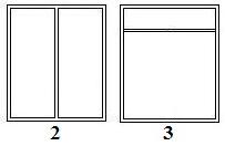 Konstrukcja dzielona słupkiem albo ślemieniem
