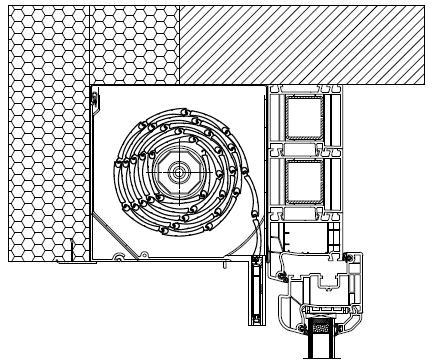 Poszerzenia jako element ułatwiający montaż rolet zewnętrznych