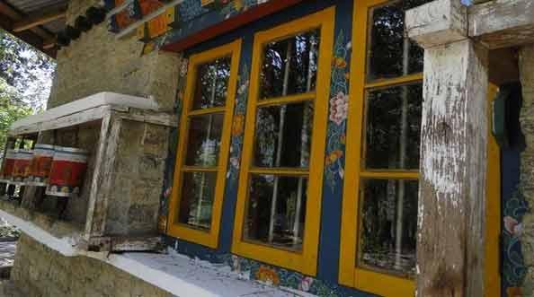 Okna z Sikkimu