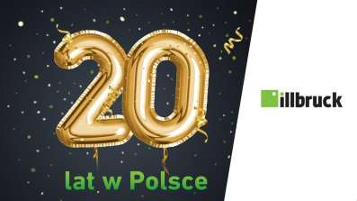 20-ste urodziny marki illbruck w Polsce