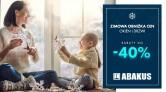Zimowa Promocja w Abakus Okna. Rabaty sięgają nawet -40%.