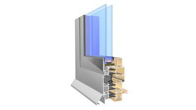 Okno aluminiowe Aliplast Imperial AdamS