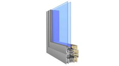 Okno aluminiowe Aliplast Superial AdamS