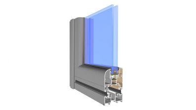 Drzwi składane / harmonijkowe Aliplast Visofold AdamS