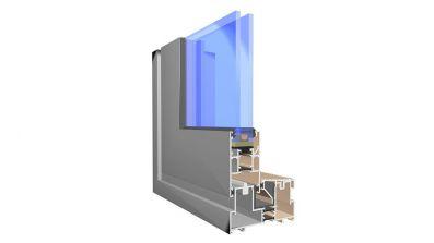 Aluminiowe drzwi przesuwne HS / HST Aliplast Visoglide AdamS