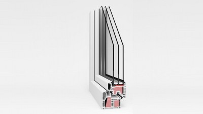 Energooszczędne / pasywne okno PCV AdamS Passiv-line ULTRA