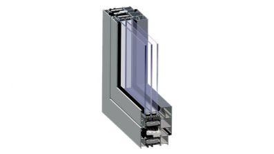 AL-TECH okno aluminiowe Aliplast Genesis 75