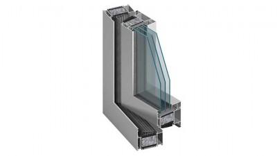AL-TECH pasywne okno aluminiowe Aluprof MB-104